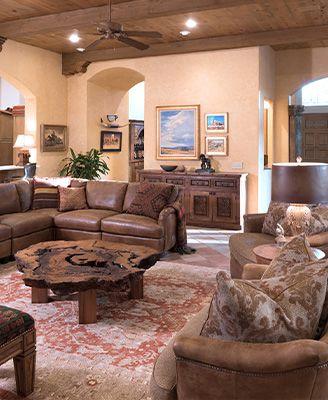 charming tuscan living room decorating ideas | An Inspiring Transformation: Rustic Tuscan Furniture ...