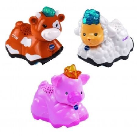VTECH Toot Toot Animals Pig Sheep and Cow Letrsquo