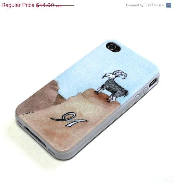20 OFF SALE Capricorn cell phone cover Soft TPU Gel by liatib, $11.20