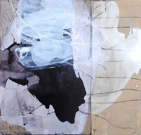Before, during & after I, 115x120 Hanne-May Scheen