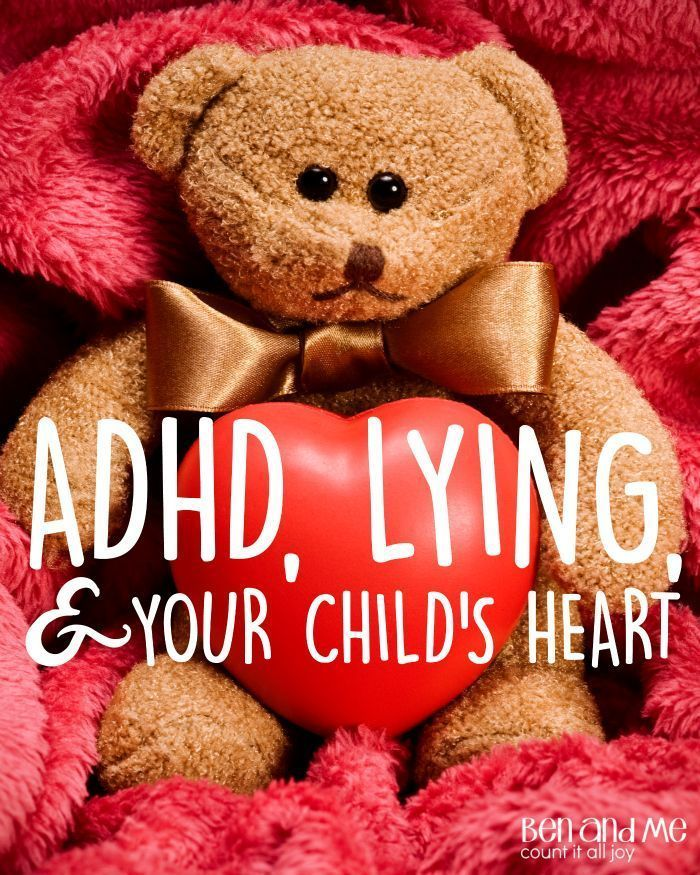 Because these kids spend much of their time seemingly in disobedience, it's imperative parents develop a system for determining the difference between matters of the heart that require immediate disciplinary action and those that are the coping mechanism of a child with ADHD. One of the most difficult areas in which to judge this is lying.