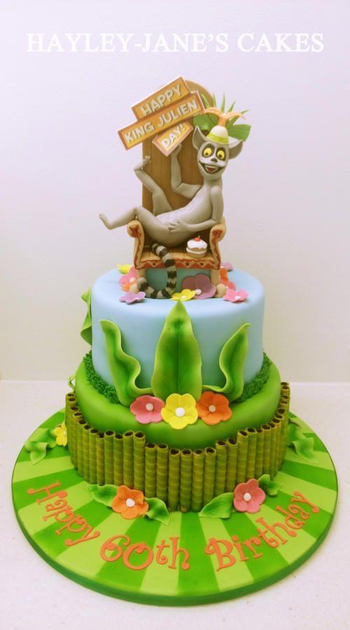 King Julien - Madagascar Cake - Cake by Hayley-Jane's Cakes