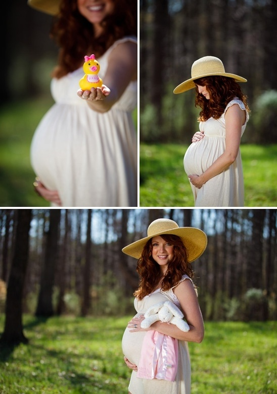 What a great idea for a maternity shoot - lovin the hat. by dorothea
