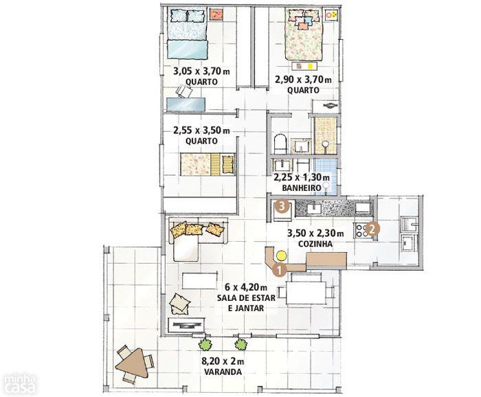 170 besten casas arquitetura bilder auf pinterest. Black Bedroom Furniture Sets. Home Design Ideas