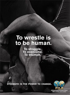 FILA announces new advertising campaign: To wrestle is to be human | TheMat.com - USA Wrestling