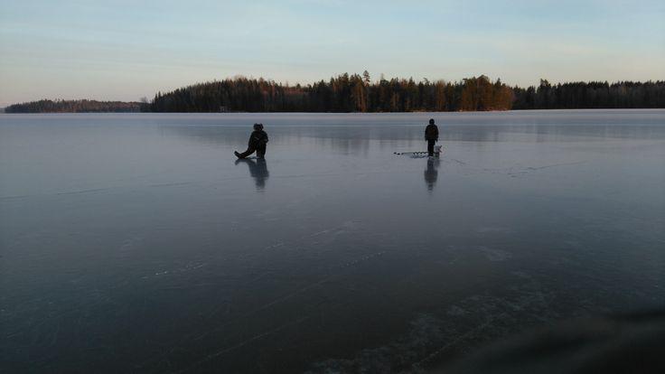 Jäällä jouluna 2015 On the ice, Christmas 2015