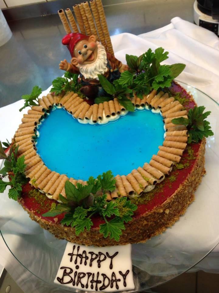 Ein Pool Zum Schlemmen Swimmingpool Torte Zum 50 Geburtstag