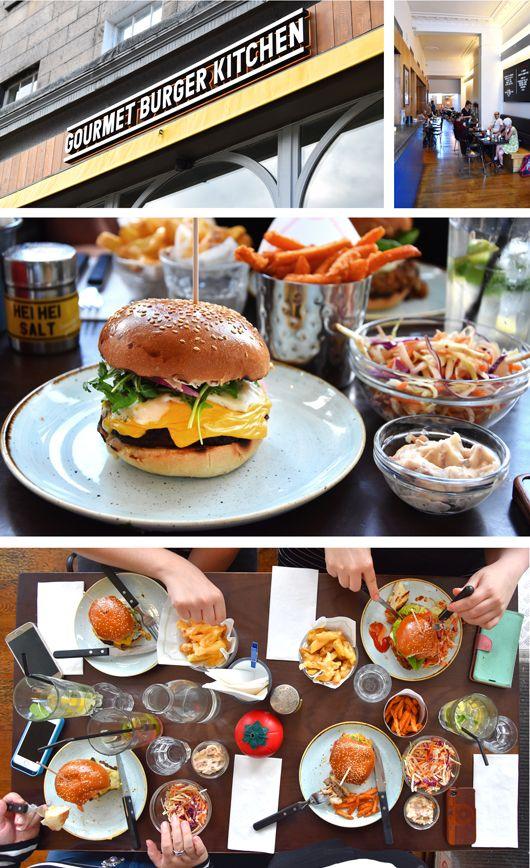 Die besten Burger von Edinburgh bei Gourmet Burger Kitchen