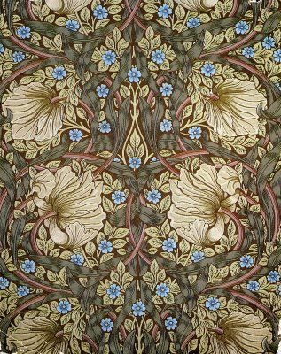 William Morris. See my 'Blog/Sites: Art+' Board for information on artist William Morris.