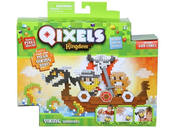 BUST THE BOREDOM WITH QIXELS!