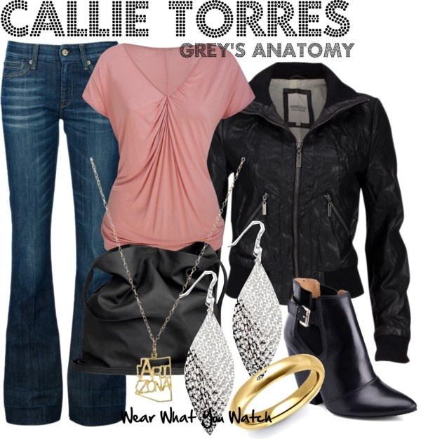 Inspired by Grey's Anatomy character Callie Torres played by Sara Ramirez.