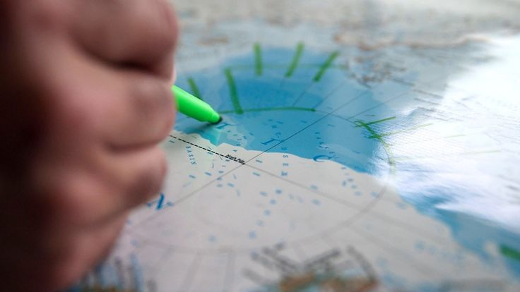 """Is Ice Melt Altering NG Maps? National Geographic's soon-to-be-published """"Atlas of the World,"""" tenth edition, will show the most dramatic change in Arctic ice since the 1963 publication of the first edition."""