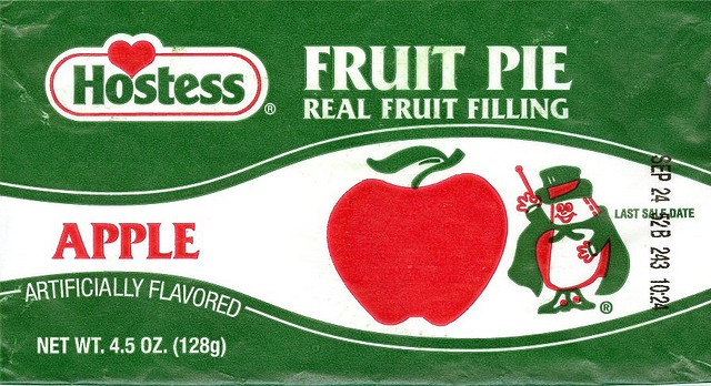 Hostess Fruit Pies.  Loved these. Some form of Hostess usually went in to my packed lunch for school.