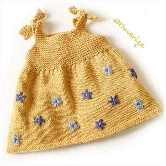 Vestido Infantil Tricot