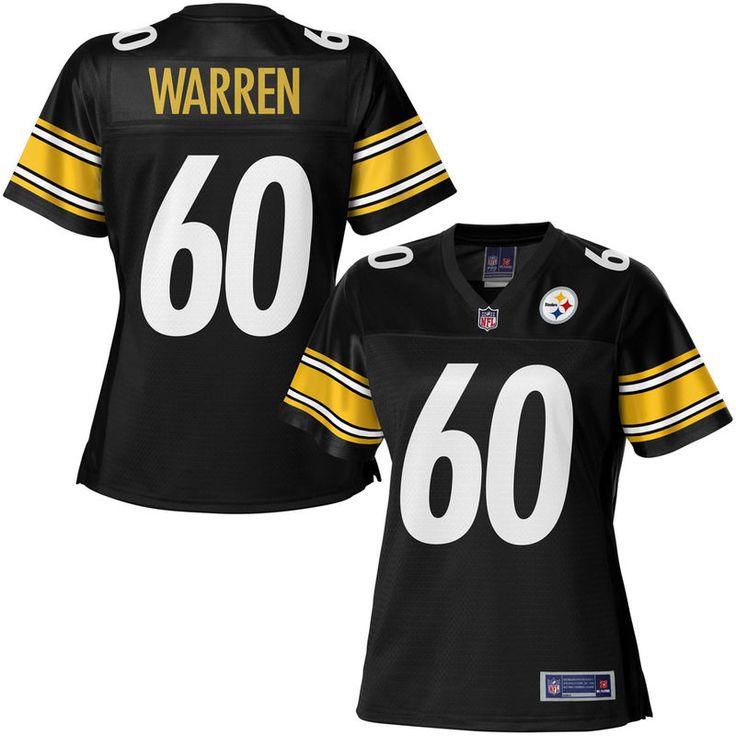 NFL Pro Line Women's Pittsburgh Steelers Greg Warren Team Color Jersey