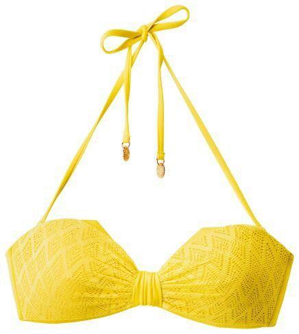 Deze gele bikini is super, hij is.. Geel! :-)