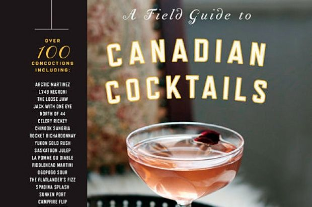 New item November 2015: A field guide to Canadian cocktails by Scott McCallum.