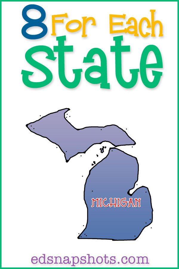 US Geography Michigan-books, videos, and activities