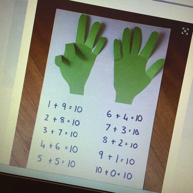 10-kompisar med utklippta fingrar.