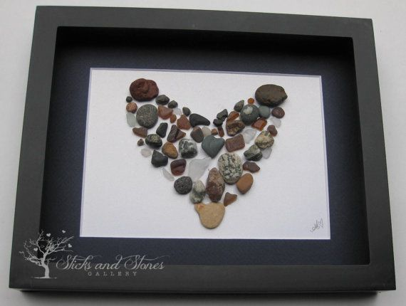 Love Gift  Couples Gift Handmade Home Decor  by SticksnStone