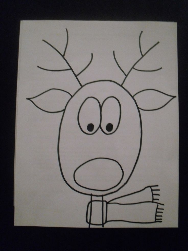 artventurous reindeer portraits art projects
