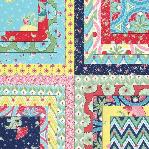 Pedal Pushers Moda charms quilt fabric