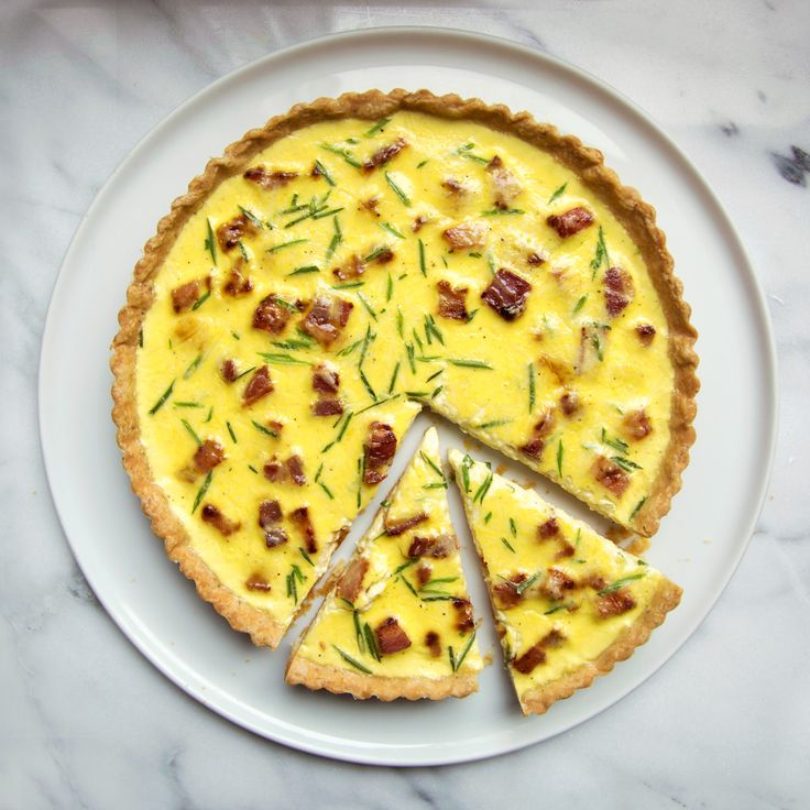 Food & Wine's Quiche Lorraine is the perfect brunch dish. Or serve it with salad for a light lunch or dinner.