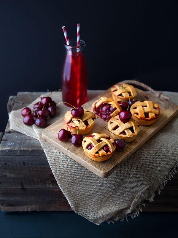 Cherry Pies, de délicieuses mini tartes aux cerises vegan !