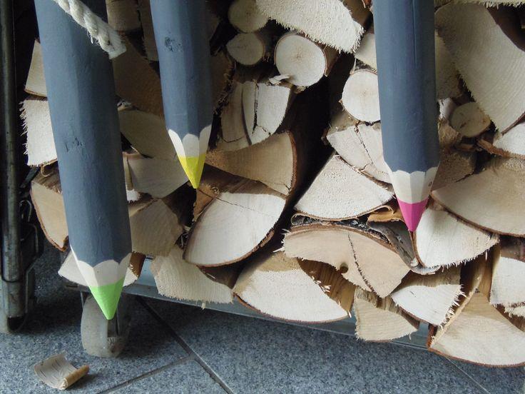 jättiläiskynät puusta