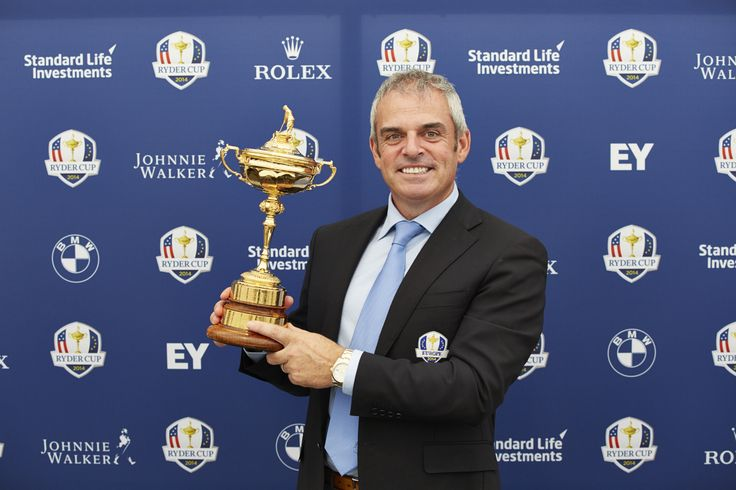 Paul McGinley, Europe's Captain for The 2014 Ryder Cup. #RyderCup