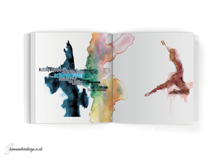 graphic design - double-page spread /Olympics