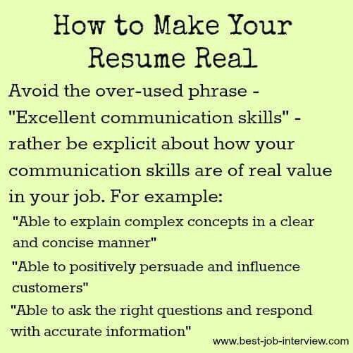 165 best job interview preparation images on Pinterest Career - powerful resume skill phrases