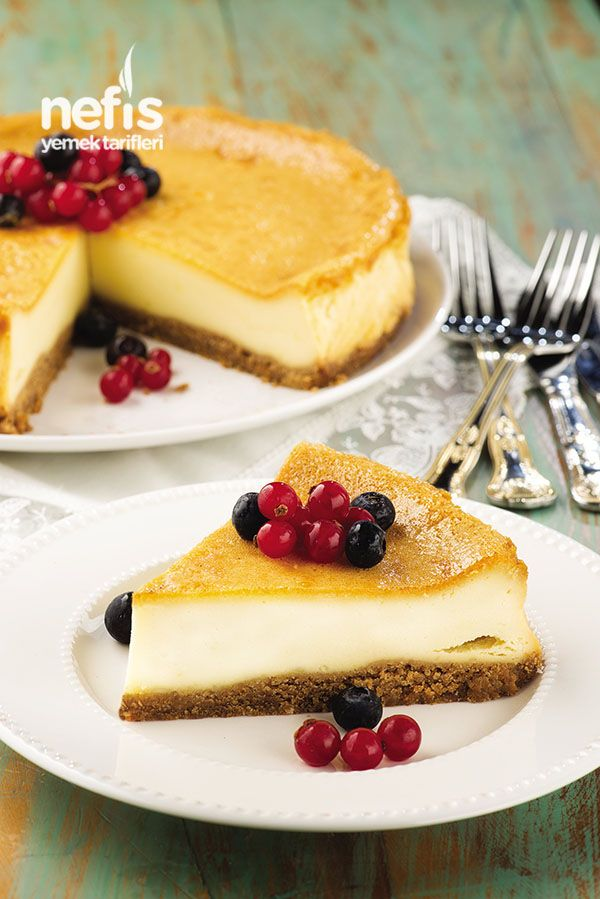 Pınar Labneli Pişmeyen Cheesecake Parfe
