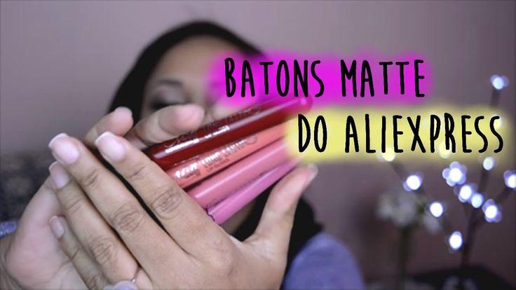 Neste vídeo falo sobre os famosos batons do Aliexpress. Espero que gostem. Assista em HD! Se inscreva clicando aqui: http://goo.gl/CG8gkt TSU https://www.tsu...