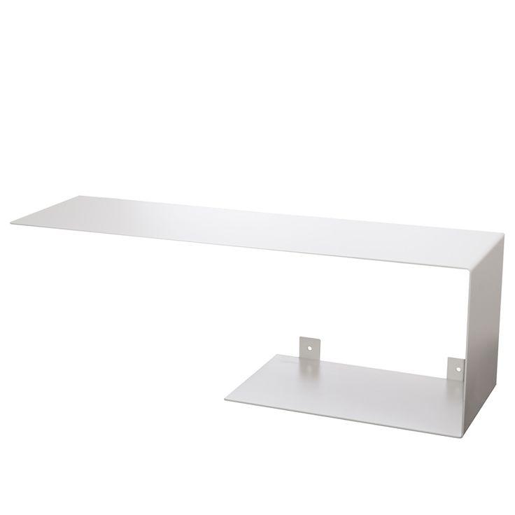 White shelf Bent steel Gie El