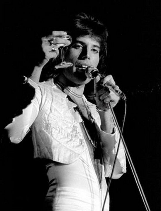 freddie live at boston music hall january 1976 photo by ron pownall