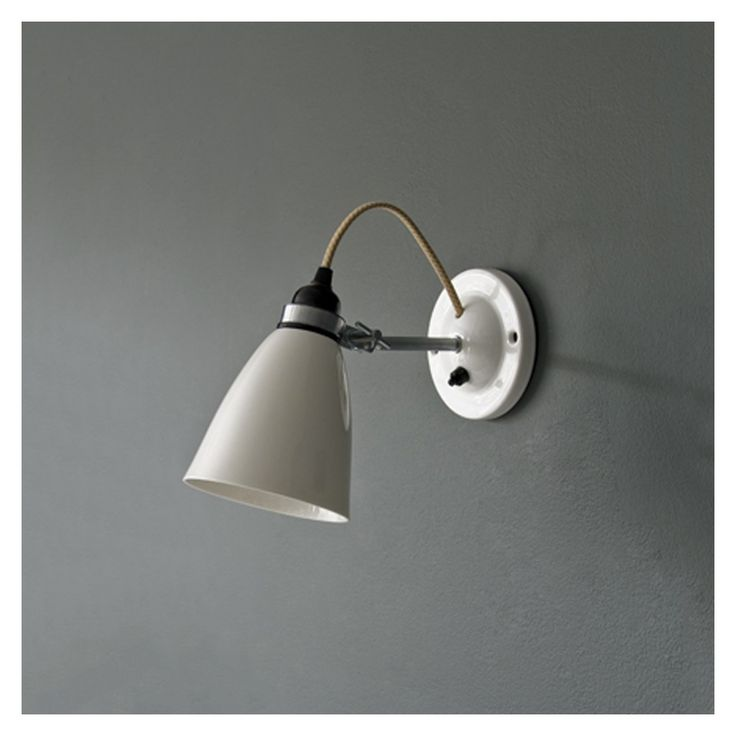 Hector Medium Dome Switched Wall Light - Wall Lights - Lighting - Furniture & Lighting - The Conran Shop