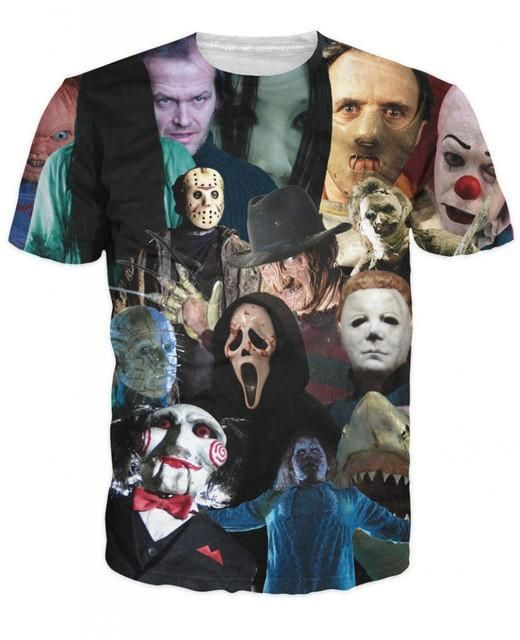 Zombie 3D Shirt - The Walking Dead T-Shirt (Men / Women Styles)