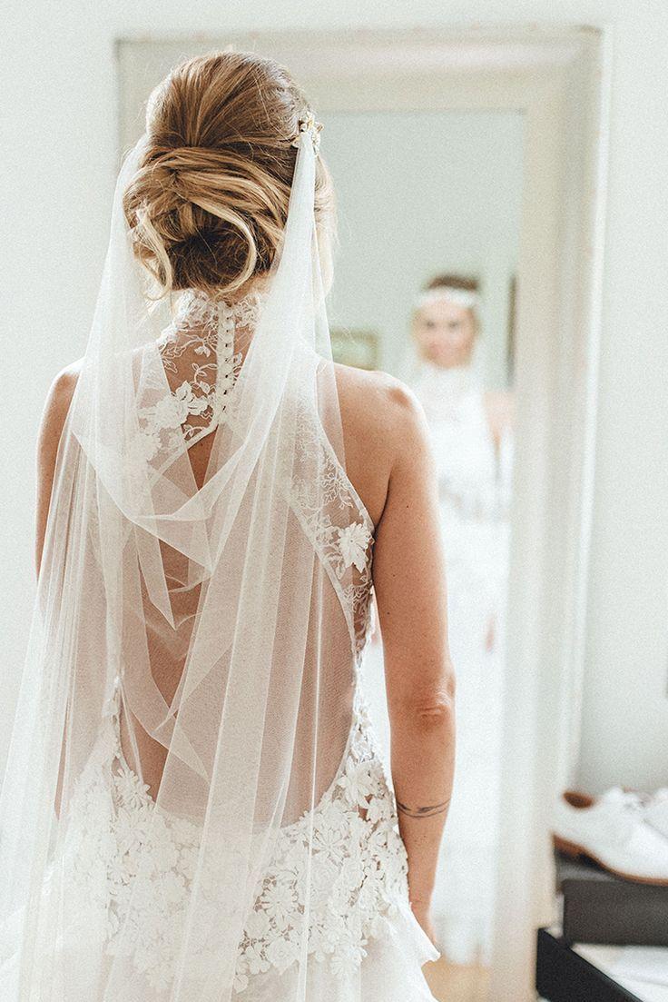 Bohemian Glam Hochzeit  Frisur braut, Kleid hochzeit, Perfektes