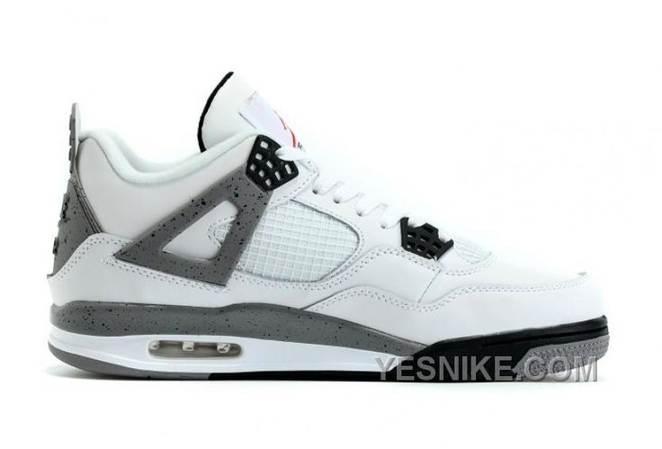 http://www.yesnike.com/big-discount-66-off-2016-air-jordan-4-white-cement-with-nike-air-shoes-sale.html BIG DISCOUNT! 66% OFF! 2016 AIR JORDAN 4 WHITE CEMENT WITH NIKE AIR SHOES SALE Only $97.00 , Free Shipping!
