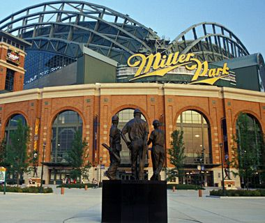 Miller Park, Milwaukee, Wisconsin - Home of the Milwaukee Brewers