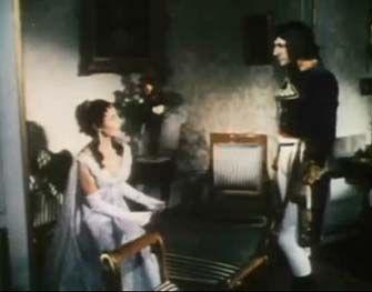 Daniel Gelin As Napoleon Bonaparte And Michele Morgan As