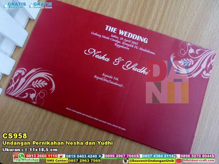 Undangan Pernikahan Nesha Dan Yudhi | Souvenir Pernikahan Undangan Pernikahan Nesha Dan Yudhi WA/SMS/Telp : 082324687800 Pin BBM : 5D1A4BF2  #UndanganPernikahan #TokoPernikahan #SouvenirPernikahanMurah #HargaSouvenir