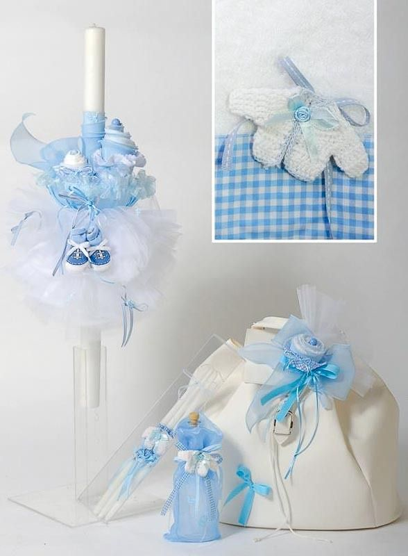 Little Cupcake Christening Set at the Greek Wedding Shop ~ http://www.greekweddingshop.com/