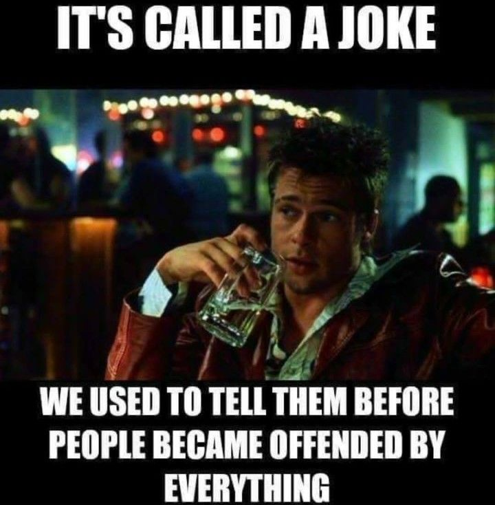 Image result for being offended is trendy memes