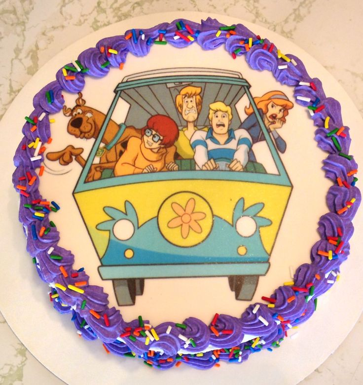 62 best Scooby Doo cakes images on Pinterest Birthdays Scooby doo