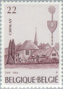 Stamp: Chimay (Belgium) (Abbeys) Mi:BE 2199,Sn:BE 1179,Yt:BE 2147,Bel:BE 2147