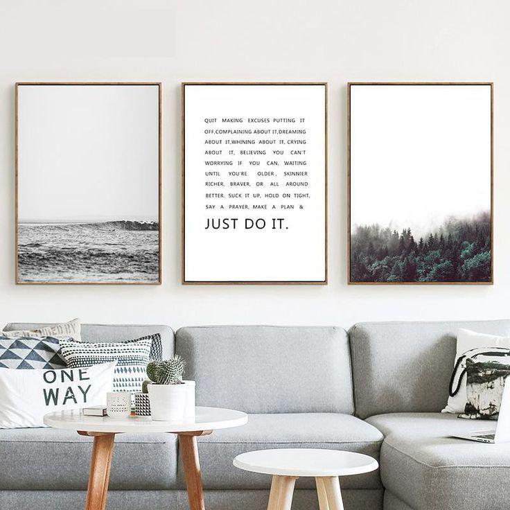 Einfach Ausdrucken In 2020 Mit Bildern Wandkunst Wohnzimmer Wanddeko Wohnzimmer