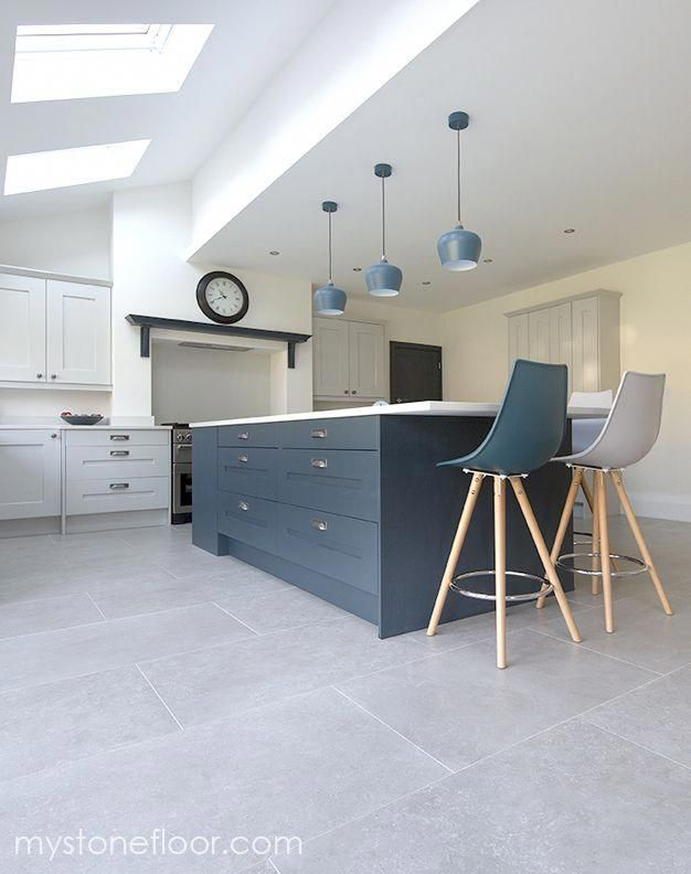 Dove Grey Porcelain Stone Tiles Available In For Floor Tiles Order Your Free Sample Of Dove Grey P Grey Kitchen Floor Kitchen Flooring Grey Tile Kitchen Floor