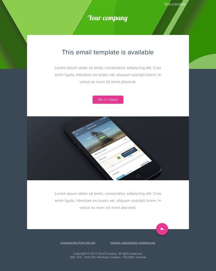 Best Newsletter Template Images On   Email Newsletter